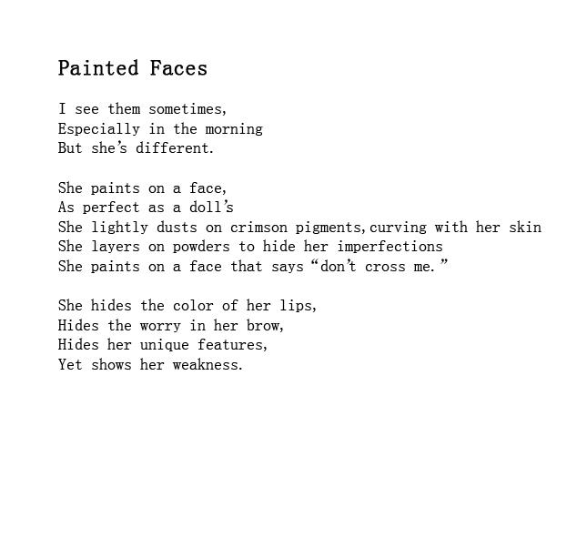 trains #poems #woman #makeup #painted faces – SUNSET MEDIA WAVE