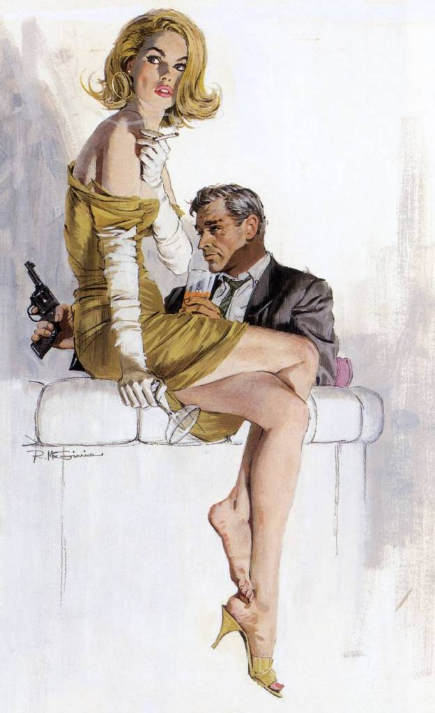 Robert McGinnis 1926 -  American Panter and Illustrator - Tutt'Art (19)